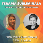 terapia subliminala - formare internationala