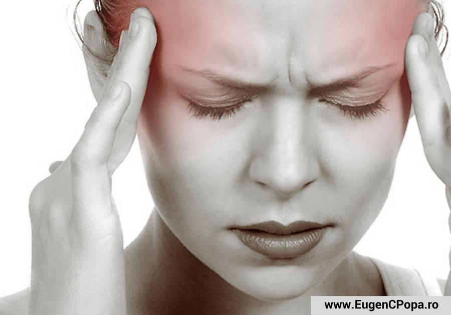 durere de cap sau migrena